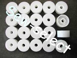 Plastic Curtain Track Brackets 20 Curtain Track Bracket Spacers Blind Washers Round Packing