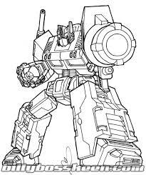 free optimus prime coloring pages older kids superheroes