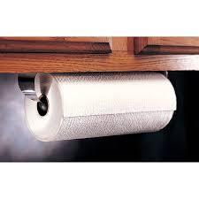 Kitchen Cabinet Towel Holder Under Cabinet Mount Paper Towel Holder Towel