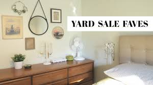 Sale Home Decor by My Favorite Yard Sale Home Decor Finds Youtube