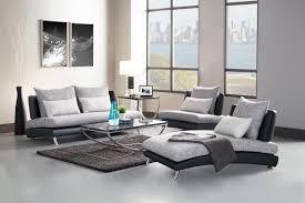Black And Grey Sofa Set Homelegance Renton Sofa Set Grey Black Polyester U0026 Bi Cast