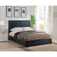 Abbyson Living Hamptons King Size Platform Bed by Overstock Beds Fenton Column Upholstered Full Bed Inspire Q