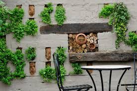 How To Build A Vertical Wall Garden by 6 Tips For Designing A Small Low Maintenance Garden Sa Garden