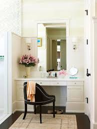 Bathroom Vanities With Sitting Area by Makeup Stations For The Beauty Addict