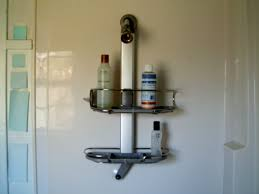 simple human shower caddy showers decoration shower storage palindrome home simple human shower caddy with bottles