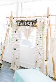 wedding backdrop modern macrame backdrop wedding backdrop backdrop 4ft by 9ft boho