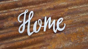 home word signs metal word sign farmhouse decor rustic