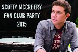 scotty mccreery fan club announcing the 4th annual scotty mccreery fan club party