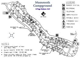Yellowstone Lodging Map Mammoth Campground Map Pictures And Video Yellowstone National
