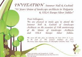 Silver Jubilee Card Invitation Invitation Ula 10th Years And Ifla Europe Silver Jubilee Ifla Europe