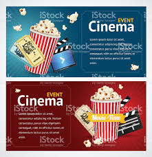 realistic cinema movie poster template vector stock vector art