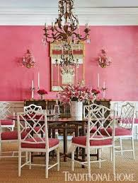 Pink Dining Room Chairs 632 Best Dining And Breakfast Rooms Images On Pinterest Dining