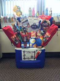 raffle gift basket ideas cing gift basket idea for school silent auction stuff for