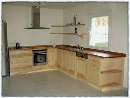 meuble de cuisine en bois meuble cuisine rustique génial facade cuisine bois brut styles des