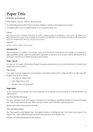 white paper template in word and pdf formats