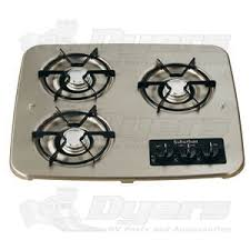 Rv Cooktop Suburban Black 3 Burner Drop In Cooktop Drop In Cooktops