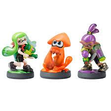image nintendo inkling boy squid amiibo figures splatoon