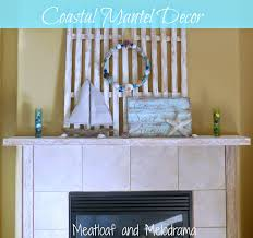 Sailboat Home Decor Coastal Mantel Meatloaf And Melodrama