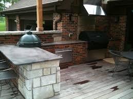 Green Egg Kitchen - outdoor kitchen gas grills kitchen decor design ideas