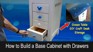 how to build a base for cabinets to sit on how to build base cabinets with drawers pahjo designs