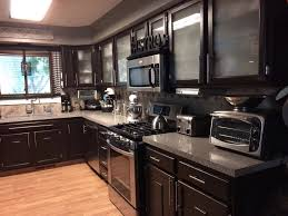 kitchen what kind of paint to use on kitchen cabinets gray