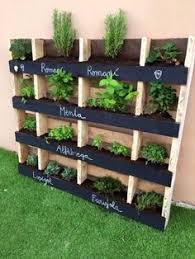 herb planter ideas pallet herb planter box easy video instructions lots of ideas