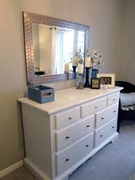 bedroom dresser with mirror large mirror hung over the dresser for our home pinterest