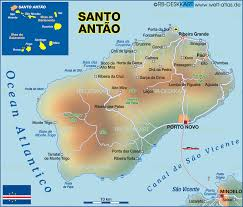 Cabo Verde Map Map Of Santo Antao Cape Verde Map In The Atlas Of The World