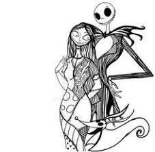 nightmare before coloring sheets coloring pages