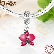 pandora bracelet pendant images 925 sterling silver radiant orchid snowflake mom daisy charm fit jpg