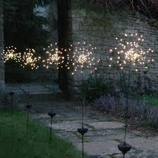 M S Outdoor Lighting Buy Allium Starburst Led Solar Outdoor Light Stake U2014 The Worm That