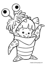 disney coloring monsters