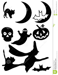 halloween silhouette royalty free stock images image 5492089