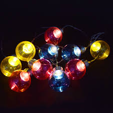 Battery Operated Mini Led String Lights by Burning Man Lighting Ideas