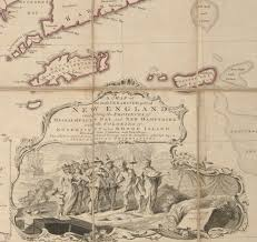 Map Of New England Colonies by First State Of The Finest 18th Century Map Of New England Rare