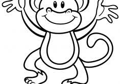 printable monkey coloring pages japanese anime coloring pages coloring page for kids