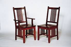 craftsman mission dining chair from dutchcrafters amish furniture
