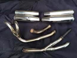 laser exhaust to fit honda vfr 800 vtec 2001 2012 in