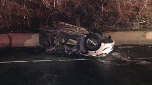 1 injured in car crash fire along i 495 in montgomery county wjla