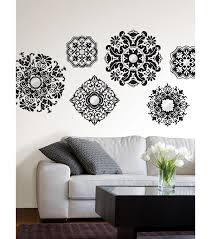 wall pops baroque mirrored wall art decal kit 6 piece set joann null null