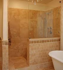 Walk In Shower Without Door Master Showers Without Doors Walk In Ideas For Inspiration