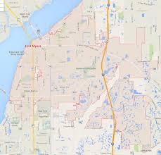 Florida City Map Fort Myers Florida Map