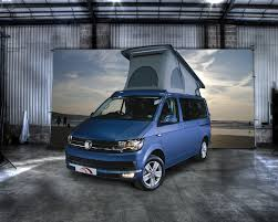 volkswagen van 2015 the new vw t6 campervan hillside leisure