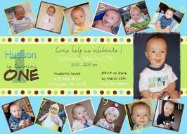 baby boy first birthday invitation cards iidaemilia com