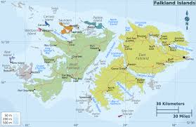 road map sle maps of falkland islands malvinas map library maps of the world