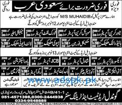 journalists jobs in pakistan newspapers urdu news jobs for mechanical and electrical staff are required in saudi