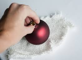 diy sweater ornaments in 5 minutes the lilypad cottage