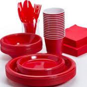 solid color tableware value
