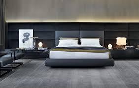 lit de chambre lit contemporain design aménagez une chambre moderne