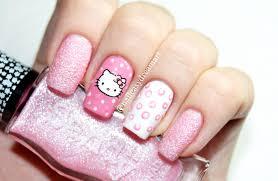 hello kitty nails u0026 dotting tools nail art маникюр в горошек